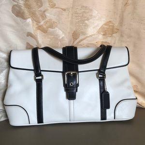 COACH  SATCHEL LEATHER BAG
